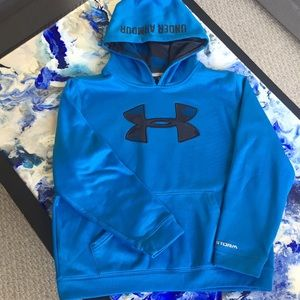 Under Armour hooded sweatshirt, large